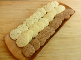 Freezer Cookies: One Dough Three Flavors Ronit Penso