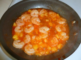 Shrimps with Pineapple and Green beans Ronit Penso