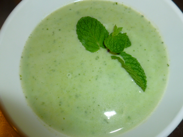 Green Pea and Mint Soup Ronit Penso