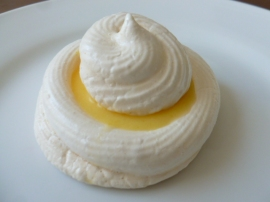 Meringue Nests with Meyer Lemon Curd Ronit Penso