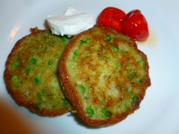 Peas, Pesto and Coconut Savory Brunch Pancakes Ronit Penso