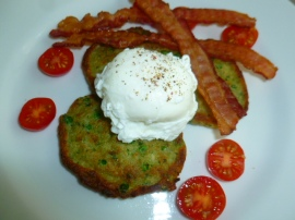 Peas, Pesto and Coconut Savory Pancakes Ronit Penso