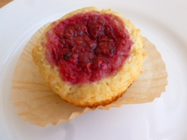 Farmer Cheese and Raspberry Muffins Ronit Penso