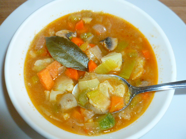 Seven Vegetables Soup with Semolina – Tasty Eats