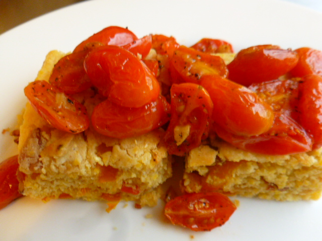 Cornbread with Bacon and Peppers Ronit Penso