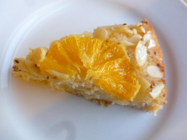 Upside down Orange Almond and Anise cake Ronit Penaso