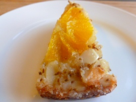 Upside down Orange Almond and Anise cake Ronit Penso