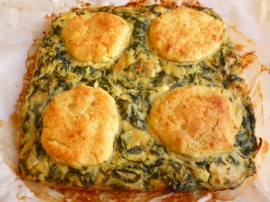 Sephardic Swiss Chard, Potatoes and Cheese Bake Ronit Penso