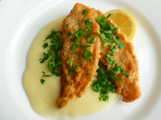 Fried fish with Agristada Ronit Penso