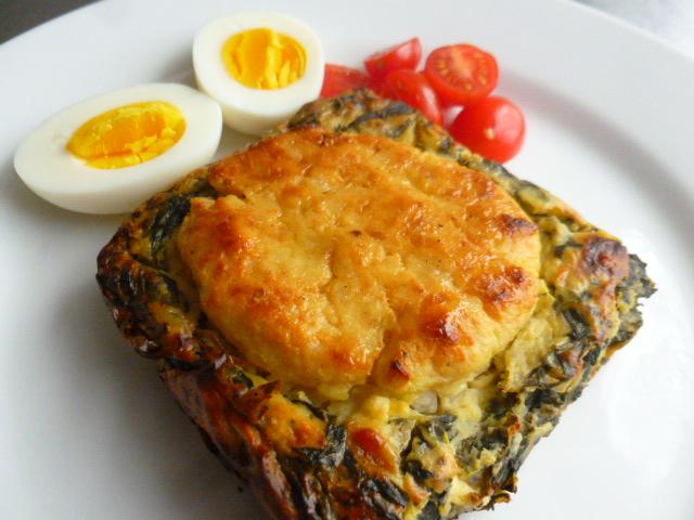 Sephardic Swiss Chard, Potatoes and Cheese Bake Ronit Penso