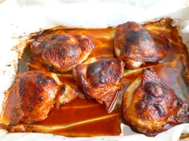 Sweet and Spicy Chicken Thighs Ronit Penso