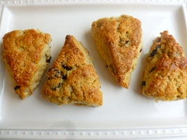 Oats, Raisins and Cranberries Scones Ronit Penso