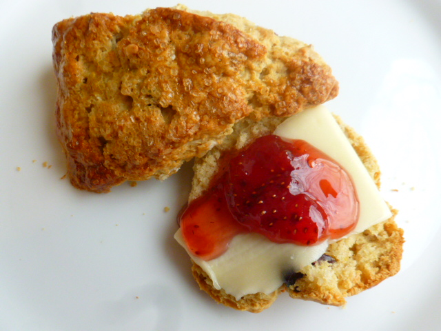 Oats, Raisins and Cranberries Scones Ronit Penso