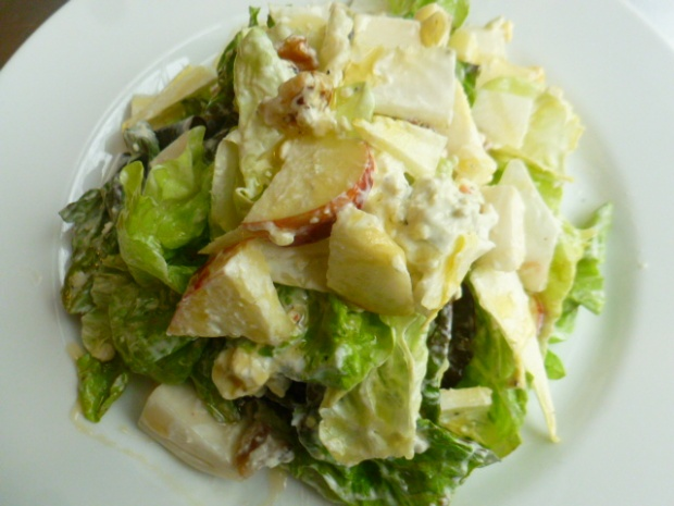Endive Apple and Blue Cheese Dressing Ronit Penso