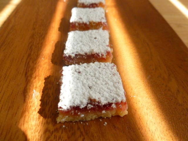 Mini Lemon Raspberry Squares Ronit Penso