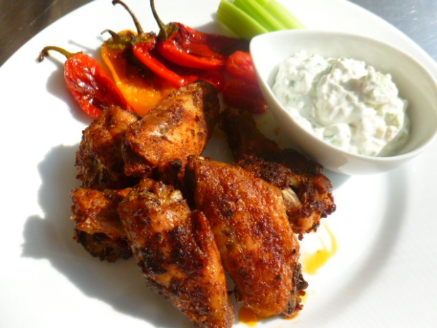 Spicy Chicken Wings Ronit Penso