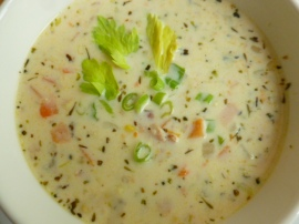 Corn and Sweet Potato Chowder Ronit Penso