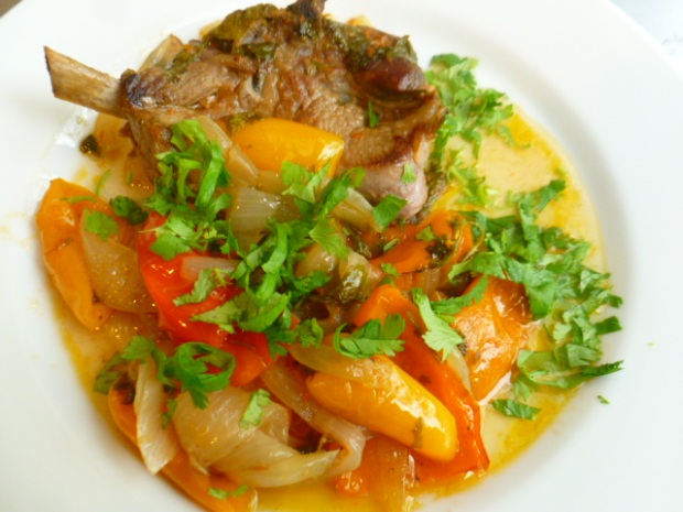 Lamb Stew with Onions and Mini Peppers Ronit Penso