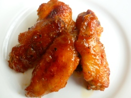 Honey Orange Sticky Chicken Wings Ronit Penso