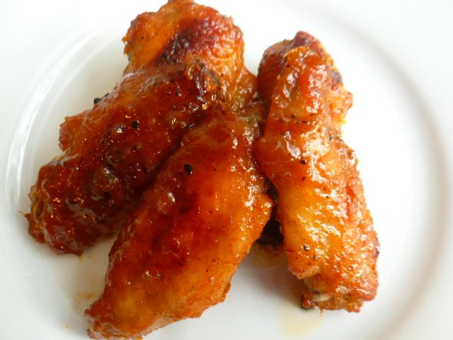 Honey Orange Sticky Chicken Wings Ronit Penso