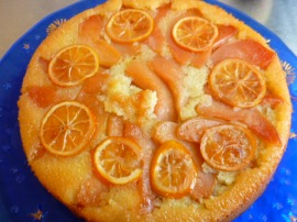 Candied Quince and Meyer Lemon Upside-down Cake Ronit Penso