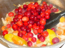 Cranberries and Orange Sauce Ronit Penso