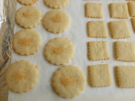 Cut out Butter Almond Cookies Ronit Penso