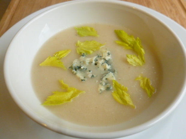 Celeriac-Apple Soup and Salad Ronit Penso