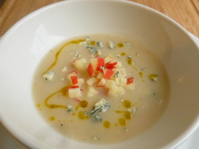 Celeriac-Apple Soup and Salad Ronit Penso