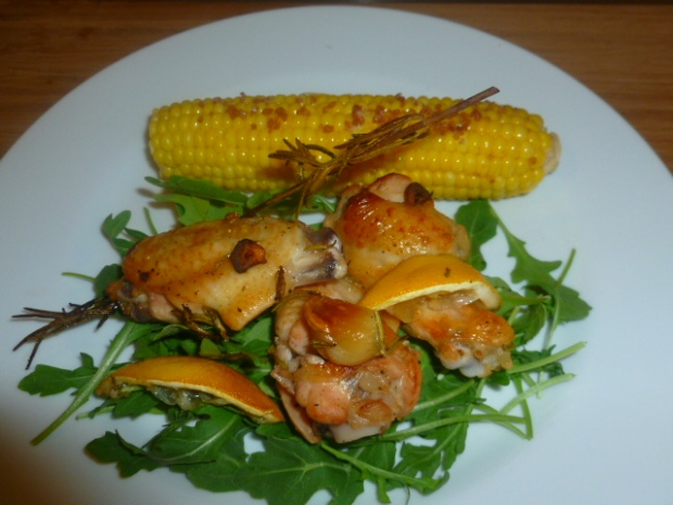 lemon rosemary chicken wings ronit penso